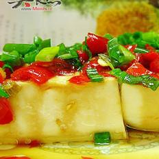 剁椒豉油豆腐的做法