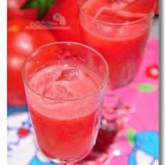 西瓜番茄汁