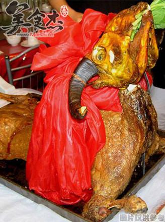 柯尔克孜族烤全羊的做法【步骤图】_菜谱_美食杰