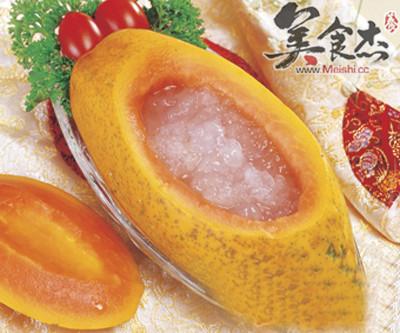 木瓜炖雪蛤的做法_家常木瓜炖雪蛤的做法【图】木瓜