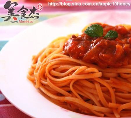 意大利肉酱的味道图片