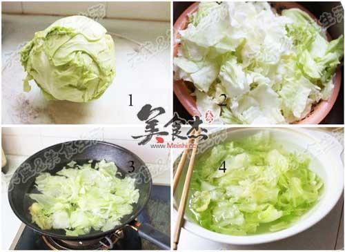 凉拌圆白菜的做法大全