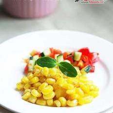 椒盐烤玉米粒