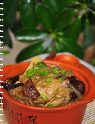 羊肉蘑菇炖排骨的鸡肉炖做法这么粉条软图片