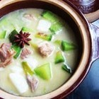 青萝卜山药羊肉汤