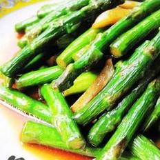 蒜香芦笋的做法
