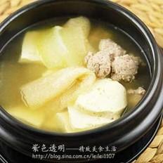 竹荪冬瓜丸子汤
