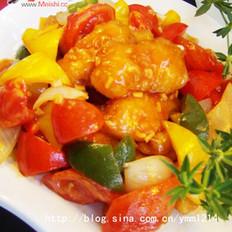 茄汁鱼柳的做法