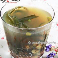 海带绿豆糖水的做法