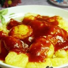 番茄日本豆腐