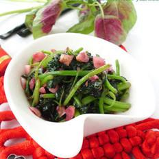 清炒苋菜的做法