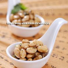 香椿酱黄豆的做法