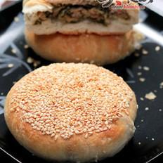 雪菜鲜肉蟹壳黄的做法