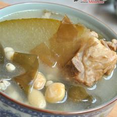 冬瓜海带薏米煲猪骨