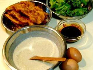 【图】绿豆做法_煎饼视频的煎饼,做,肌挛缩臀绿豆图片