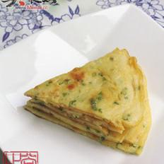 韓式雞蛋蔥花餅的做法