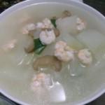 菜脯蝦仁冬瓜湯的做法