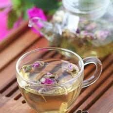 排毒清脂花草茶