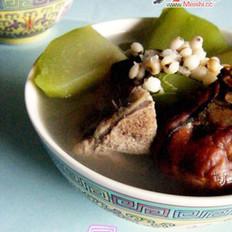 佛手瓜薏仁排骨汤