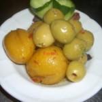 腌泡橄榄柠檬