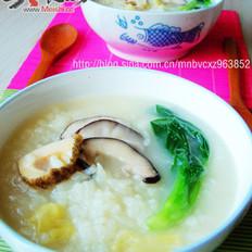 香菇螺片粥的做法