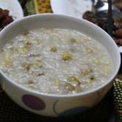 荞麦玉米绿豆粥