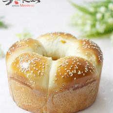 玉米粒皇冠面包的做法