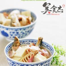 培根咸鱼豆腐汤