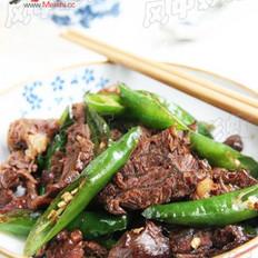 杭椒酱牛肉的做法