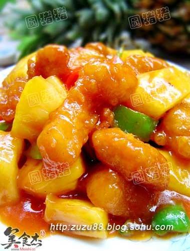 【图】菠萝咕噜肉_菠萝咕噜肉的做法,怎么做,