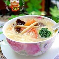 素食酸辣汤的做法
