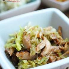 煎鸡生菜热沙拉的做法