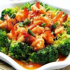 锦绣茄汁虾球的做法