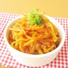 泡菜土豆絲的做法