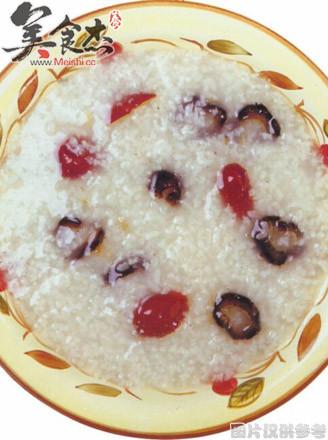 红枣海参淡菜粥的做法