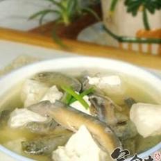 清燉泥鰍豆腐