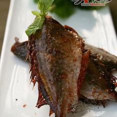 香烤剥皮鱼的做法