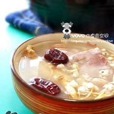 花旗参薏米汤的做法