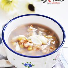 绿豆薏米百合汤的做法