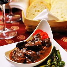 简易版红酒炖牛肉的做法