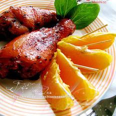 香橙叉烧鸡