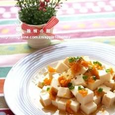 咸蛋拌豆腐的做法