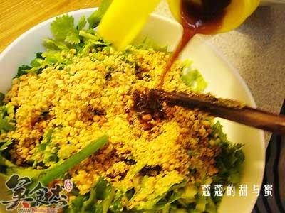 秘制蘸老豆腐的做法-秘制蘸老豆腐