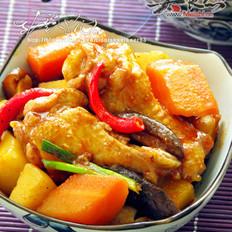 韩式辣炒鸡翅的做法