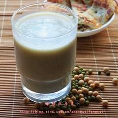 绿豆米豆浆的做法