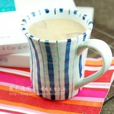 焦糖椰香冰鸳鸯奶茶