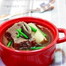 牛蒡牛排汤
