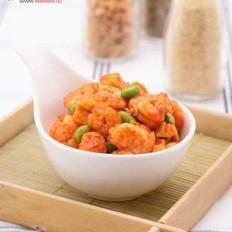 韩酱虾三丁的做法