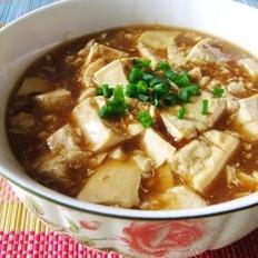 家常煮豆腐的做法