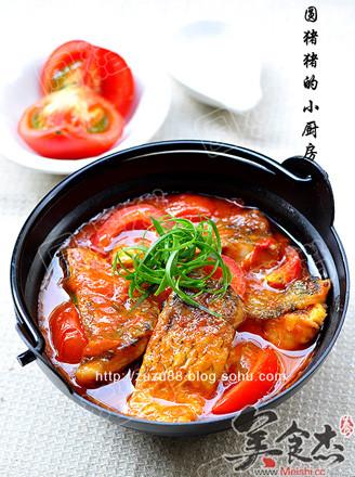 蕃茄炖鱼的做法